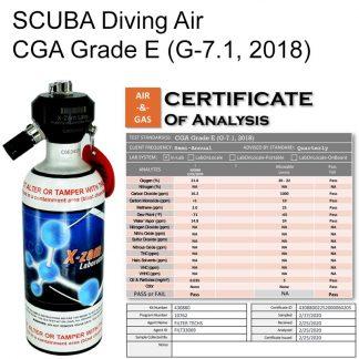 Scuba Diving CGA Grade E (G-7.1, 2018)