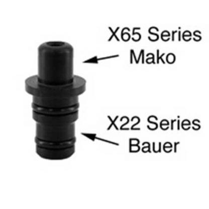 Adaptor Nipple X22 - X65 Bauer to Mako