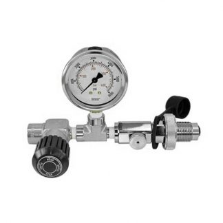 Single Fill Assembly w/DIN Connector | 4500 psi (310 Bar)
