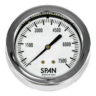 Gauge 0-7500 psi (0-517 Bar) Fits: 003M2259CM, M2259CM, Mako