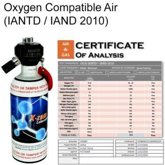 Oxygen Compatible Air Test