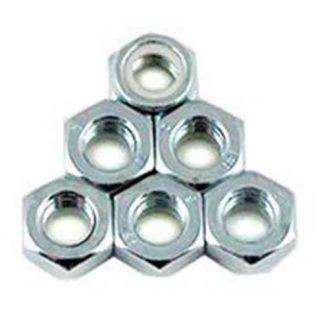 Lock nut 6-pk Fits: N57, NUT-0062, N370, NUT-0119