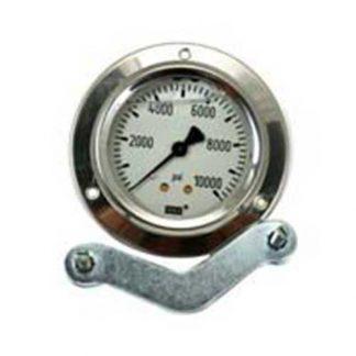 Pressure Gauge | Back Inlet 10,000 psi Fits: GAU-10000, GAG-10000, Bauer